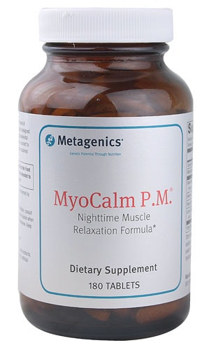 Metagenics MyoCalm P.M., 180 - ChosenMeds.com: Your premier online shop for the best health supplements and skin care products