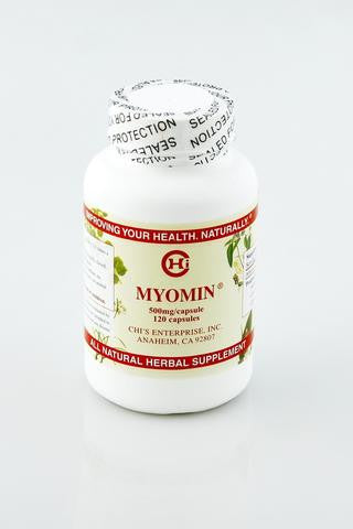 Myomin - Promotes Healthy Hormone Levels, 120 caps, 500mg capsules - ChosenMeds.com: Your premier online shop for the best health supplements and skin care products