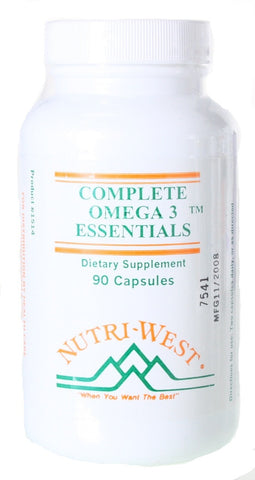 Nutri-West Complete Omega-3 Essentials, 90 - ChosenMeds.com: Your premier online shop for the best health supplements and skin care products
