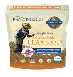 Garden of Life RAW Organics Organic Ground Flax Seeds, 14 oz - ChosenMeds.com: Your premier online shop for the best health supplements and skin care products