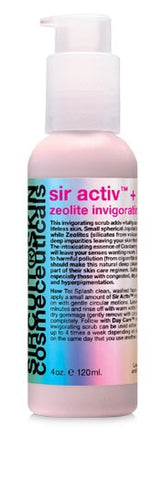Sircuit SIR ACTIV+ zeolite invigorating scrub - ChosenMeds.com: Your premier online shop for the best health supplements and skin care products