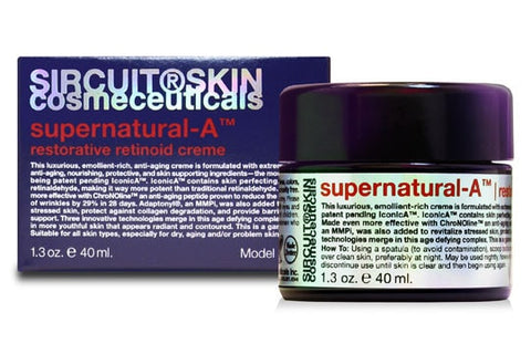 Sircuit Skin SUPERNATURAL-A restorative retinoid creme - ChosenMeds.com: Your premier online shop for the best health supplements and skin care products