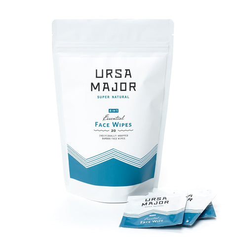 Ursa Major Essential Face Wipes 20 wipes - ChosenMeds.com: Your premier online shop for the best health supplements and skin care products - 1
