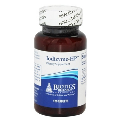 Biotics Research Iodizyme-HP 120Tabs - ChosenMeds.com: Your premier online shop for the best health supplements and skin care products