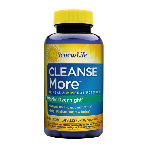 Renew Life Cleansemore Capsules, 100 -Count Bottle - ChosenMeds.com: Your premier online shop for the best health supplements and skin care products