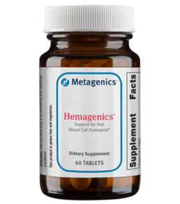 Metagenics Hemagenics, 180 - ChosenMeds.com: Your premier online shop for the best health supplements and skin care products
