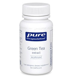 Pure Encapsulations Green Tea Extract, 120 - ChosenMeds.com: Your premier online shop for the best health supplements and skin care products
