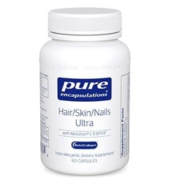 Pure Encapsulations Hair/Skin/Nails Ultra, 60 - ChosenMeds.com: Your premier online shop for the best health supplements and skin care products