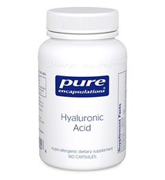 Pure Encapsulations Hyaluronic Acid, 60 - ChosenMeds.com: Your premier online shop for the best health supplements and skin care products