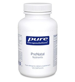 PreNatal Nutrients 120c by Pure Encapsulations - ChosenMeds.com: Your premier online shop for the best health supplements and skin care products