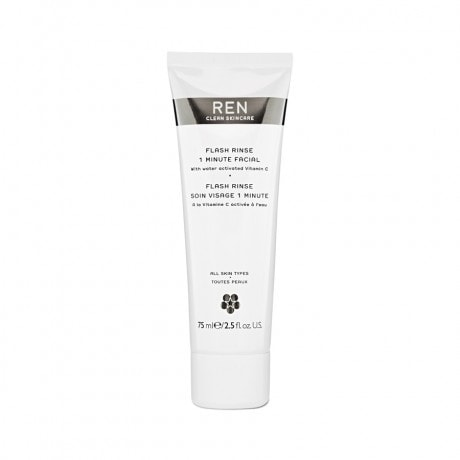 REN Flash Rinse 1 Minute Facial, 2.5 Ounce - ChosenMeds.com: Your premier online shop for the best health supplements and skin care products