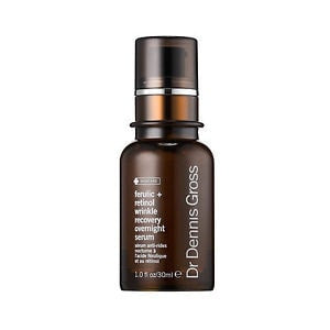 Dr. Dennis Gross Ferulic + Retinol Wrinkle Recovery Overnight Serum 1oz (30ml) - ChosenMeds.com: Your premier online shop for the best health supplements and skin care products