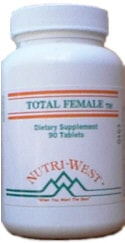 Nutri-West Total Female (90) - ChosenMeds.com: Your premier online shop for the best health supplements and skin care products