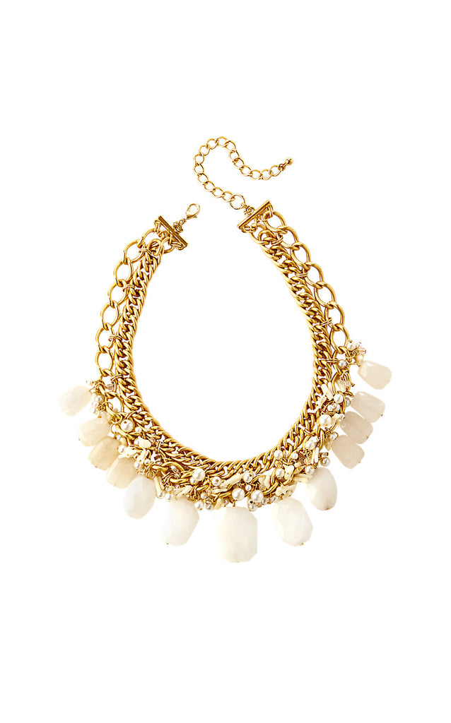 Roxie Necklace - Resort White