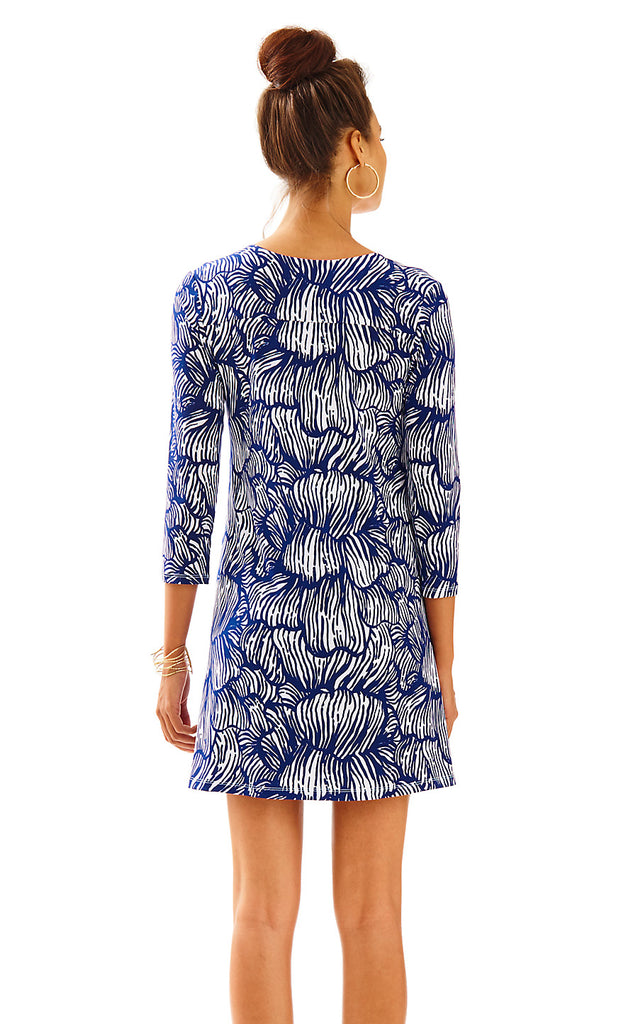 Bordeaux Tunic Dress - Bright Navy House Of Nemo Engineered