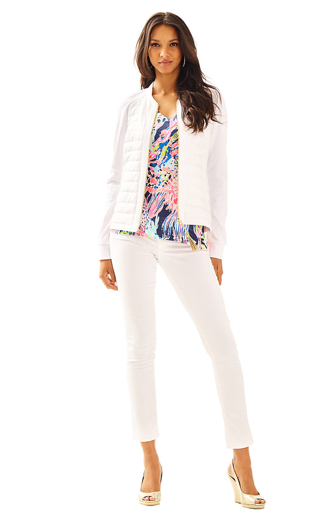 Haley Jacket - Resort White