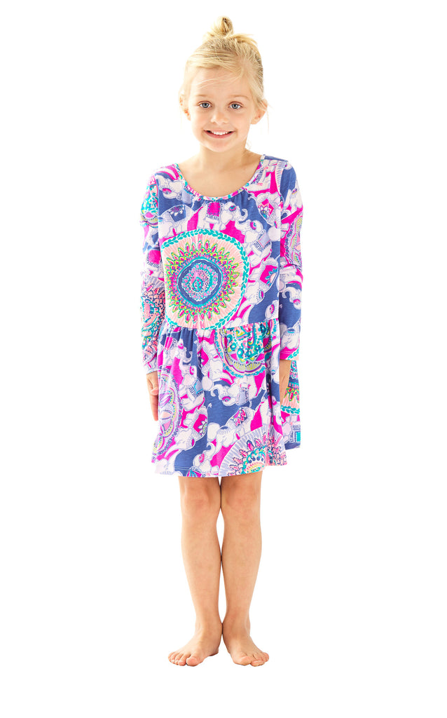 Lynn Dress - Multi Play That Trunky Music