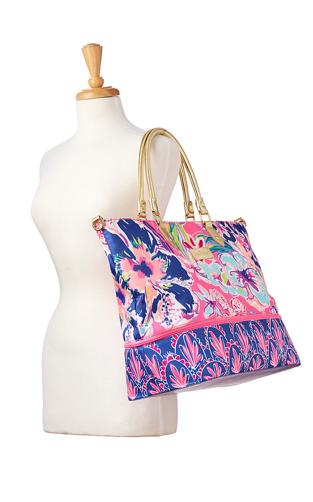 Weekender Travel Tote - Tiki Pink Tipping Point Accessories