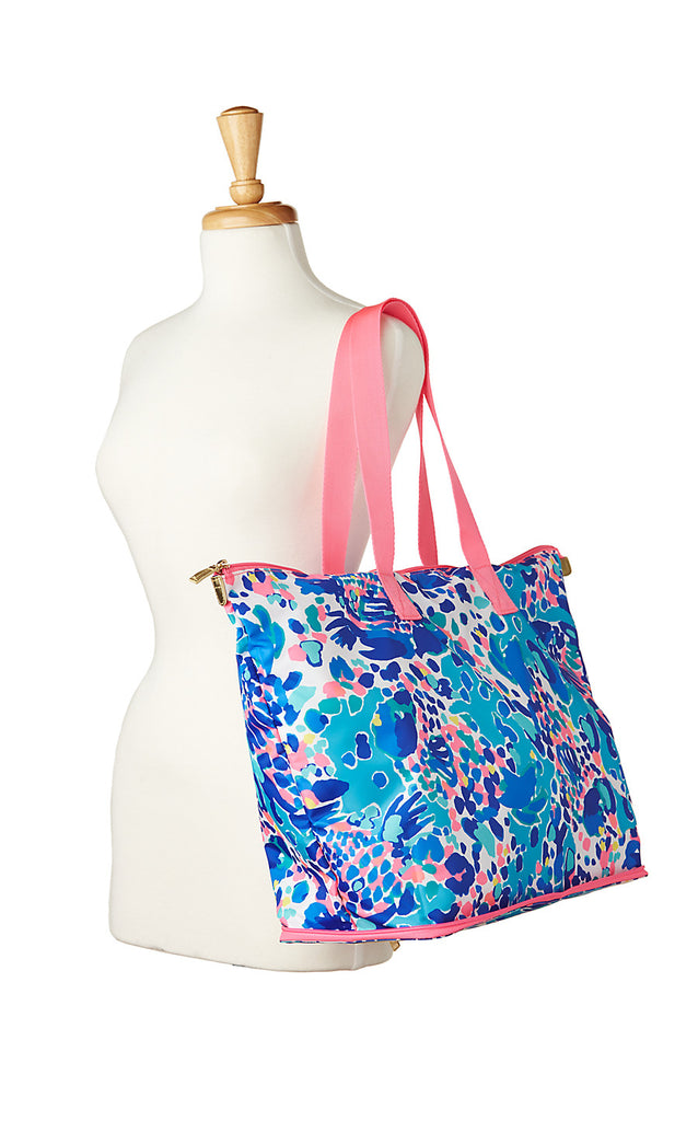 Getaway Packable Tote - Multi Hit The Spot Accessories