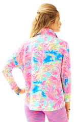Deedee Swing Jacket - Multi Palm Beach Coral