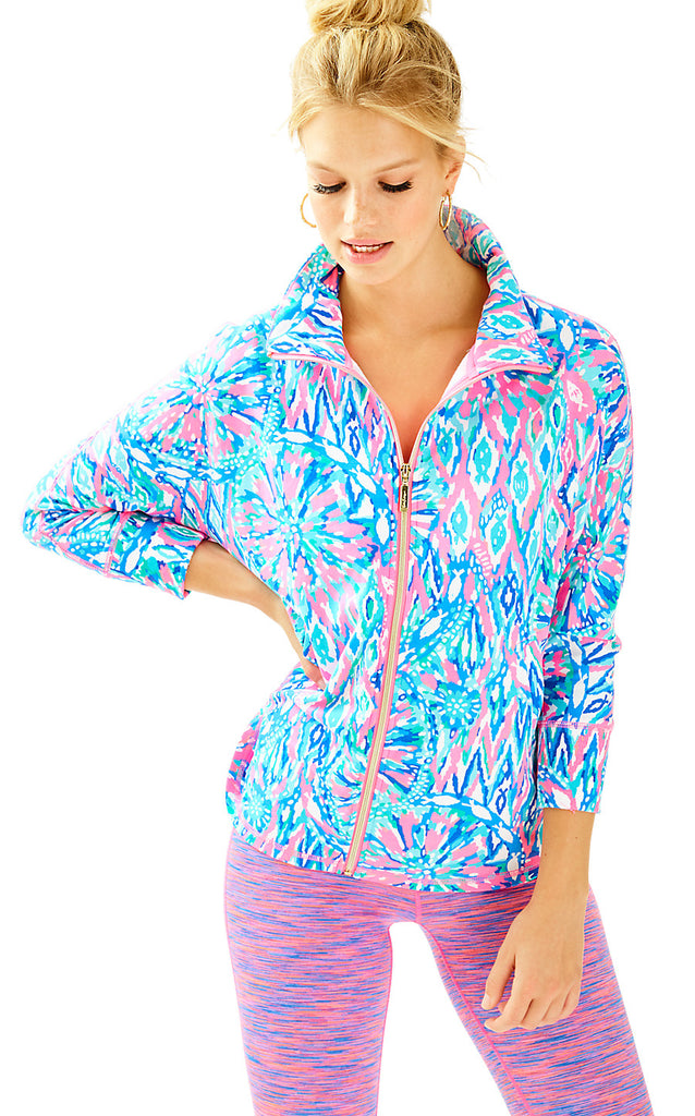Deedee Swing Jacket - Tiki Pink Shake It Up
