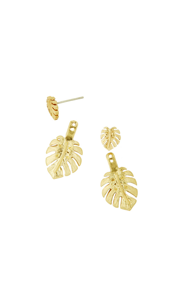 Go Bananas Earring - Gold Metallic
