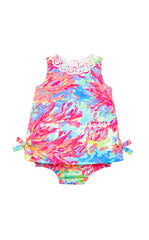Baby Lilly Shift - Multi Palm Beach Coral
