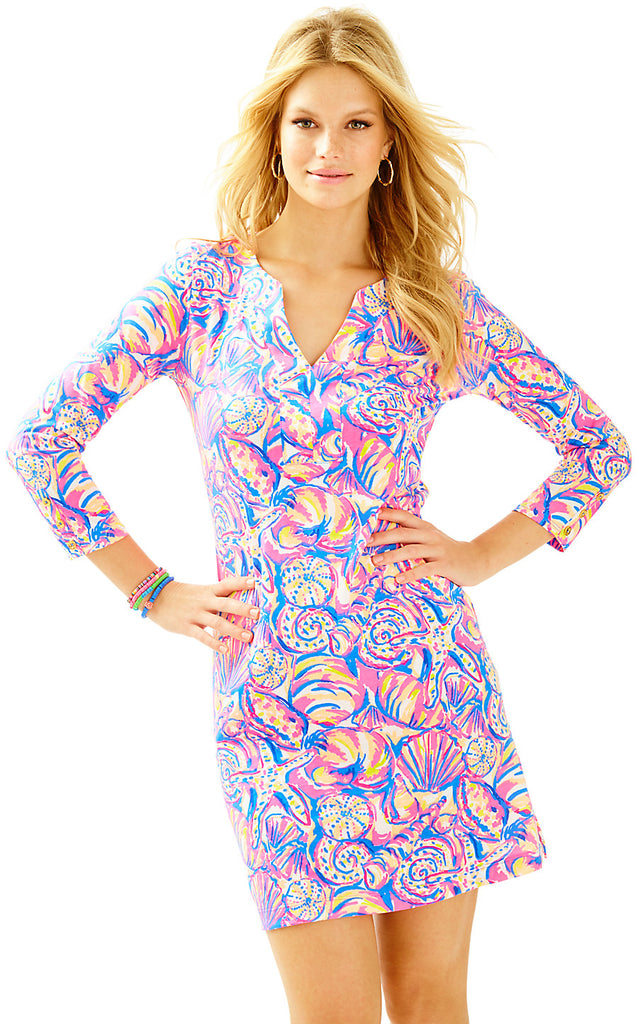 Riva Dress - Multi Shell Of A Time