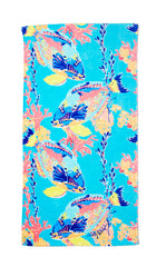 Beach Towel - Shorely Blue Sandstorm Towel