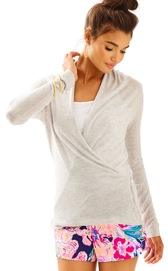 Sydelle Sweater - Heathered Seaside Grey