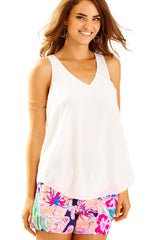 Florie Top - Resort White
