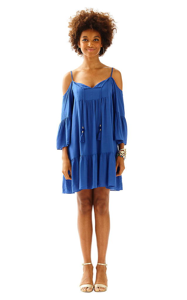 Alanna Dress - Bomber Blue