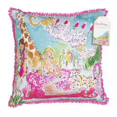 Pillow (Large) - Zoo Party