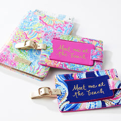 Luggage Tag - Lovers Coral