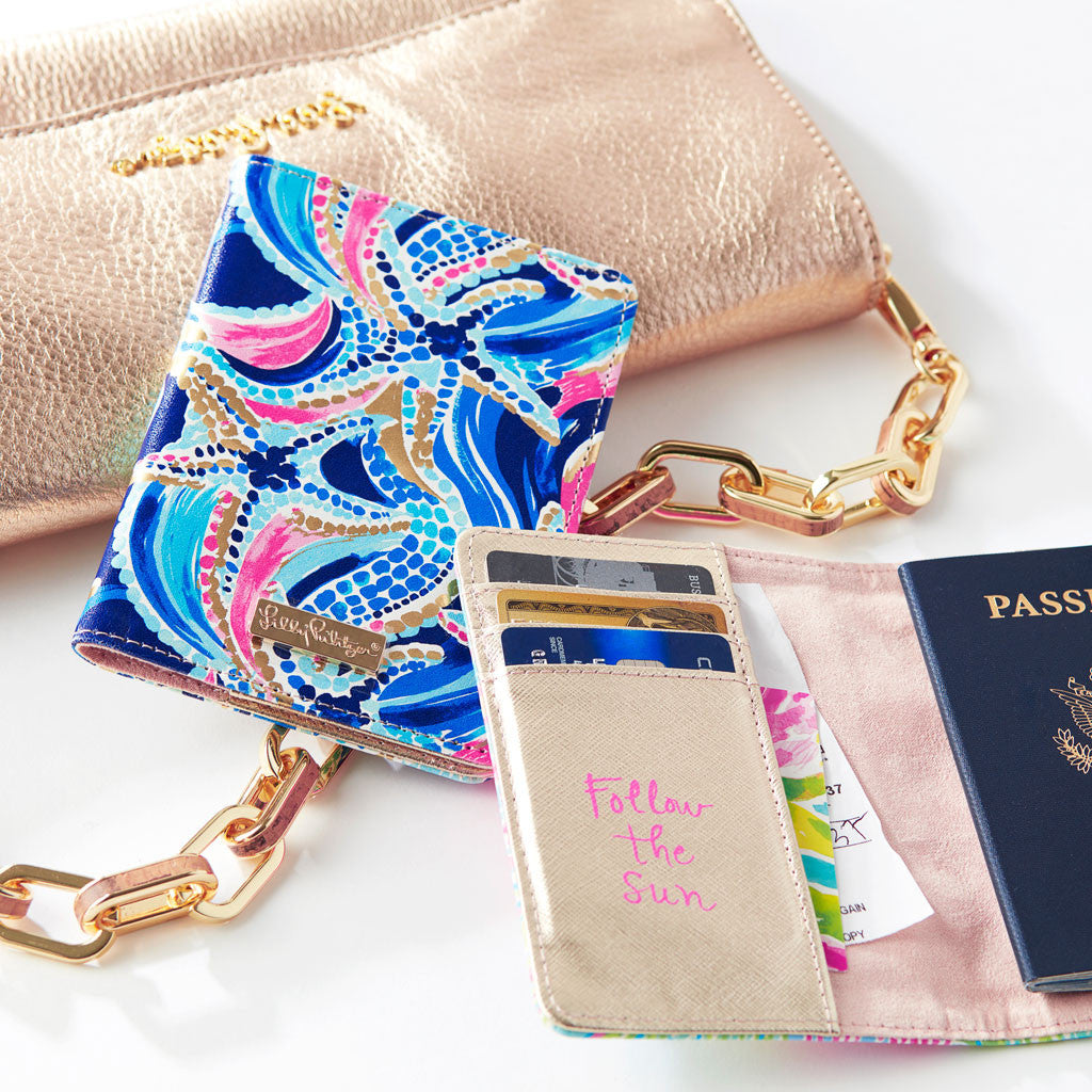 Passport Cover - Lovers Coral