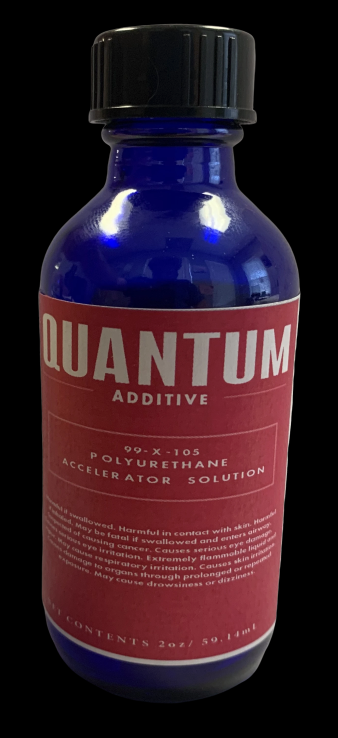 Quantum Topcoat Accelerator Solution 2oz Jar