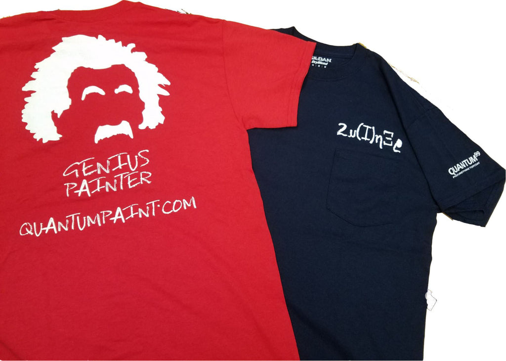 Short Sleeve Genius Painter T-Shirt