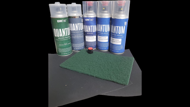 Quantum99 2K Spray Can Kit - Yamaha Cowling