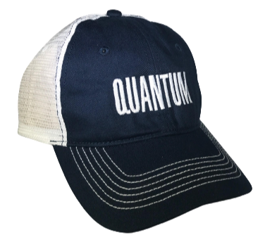 Quantum Trucker Hat Blue
