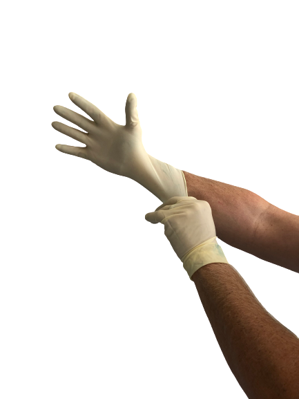 Rubber Gloves - 2 Pair