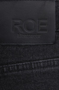 SELVEDGE DENIM SKINNY - Washed Black, Jeans - ROE
