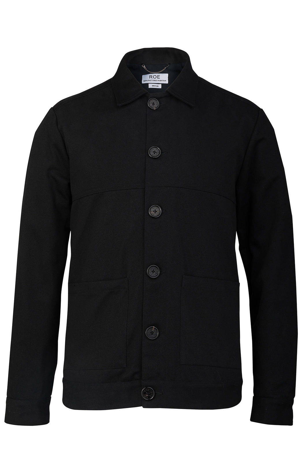 WORK JACKET - BLACK, Jacket - ROE