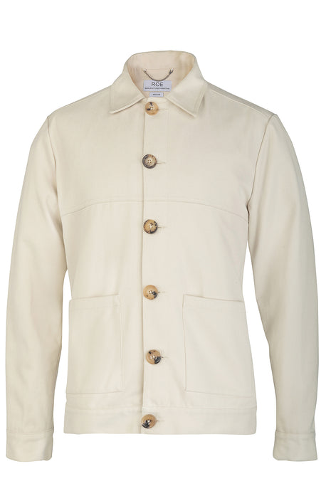 WORK JACKET - CREAM, Jacket - ROE