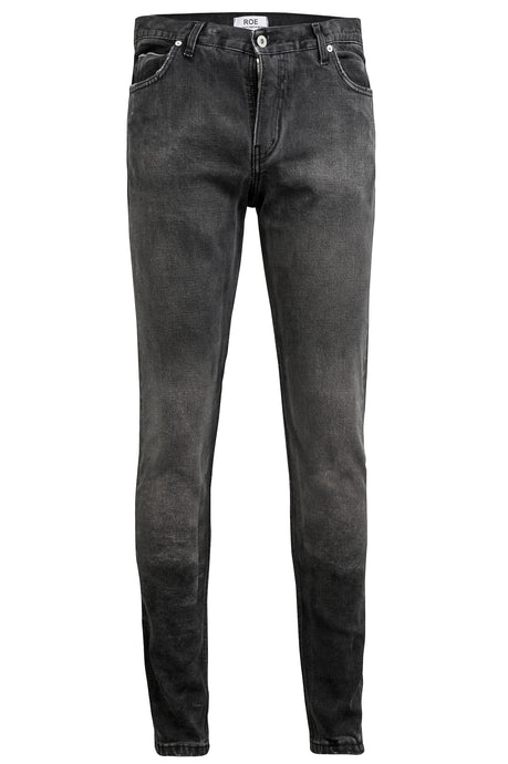SELVEDGE DENIM SKINNY - Worn Out Black, Jeans - ROE