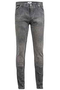 SELVEDGE DENIM SKINNY - Heavy Wash Grey, Jeans - ROE