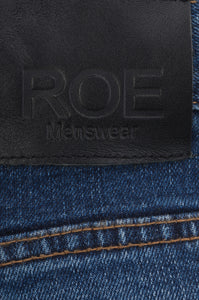 SELVEDGE DENIM SKINNY - Heavy Wash Blue, Jeans - ROE