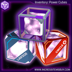 INGRESS POWER CUBES