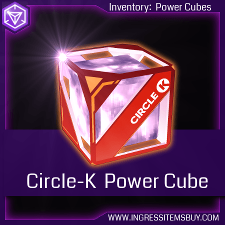 Ingress circle-k power cube|ingress circle k cubes|buy ingress circle k |ingress circle-k for sale