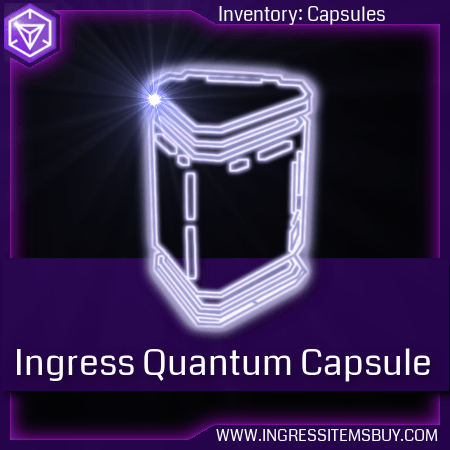 ingress quantum capsule, ingress shop to buy quantum capsule