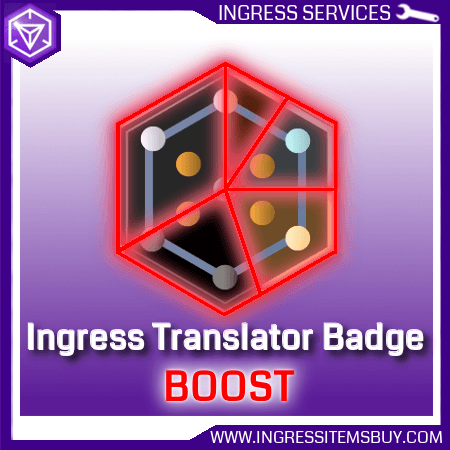 Ingress Translator Badge Boost